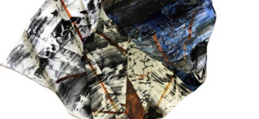 """–  בחקירה מתמדת   –                   תערוכת יחיד  של שולמית קופף בבית האמנים בתל אביב – """"מקופלת"""""""