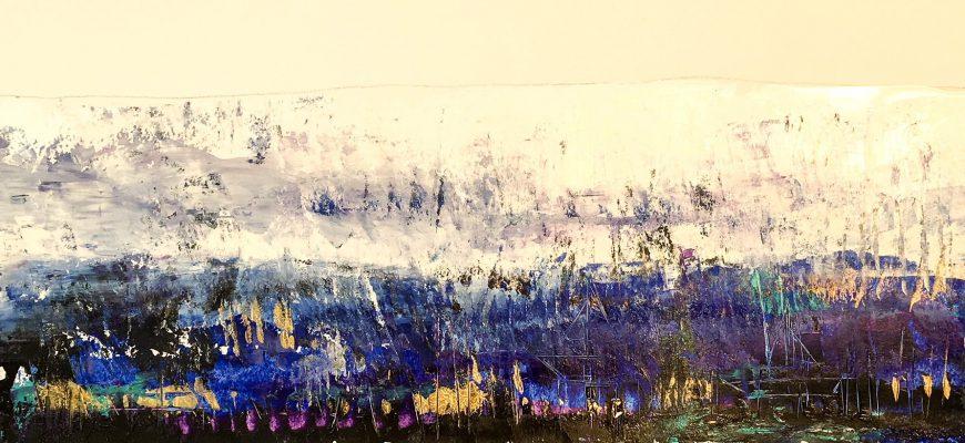 """""""נופים פנימיים"""" – תערוכת ציורים של עמירם כספי – על איחוי זיכרונות כילדות שנייה"""