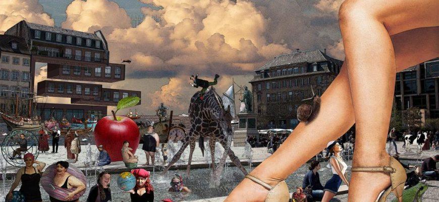 """""""המאבק באבסורד"""" תערוכת יחיד של ירון זוהר בגלריית בן עמי"""