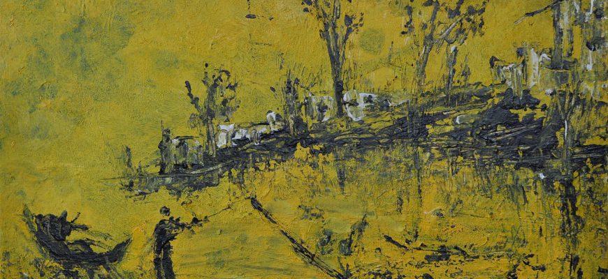 """""""פרידה מאשליות"""" – תערוכתה של אוקי שוורץ בגלריה סימנטק בירושלים"""